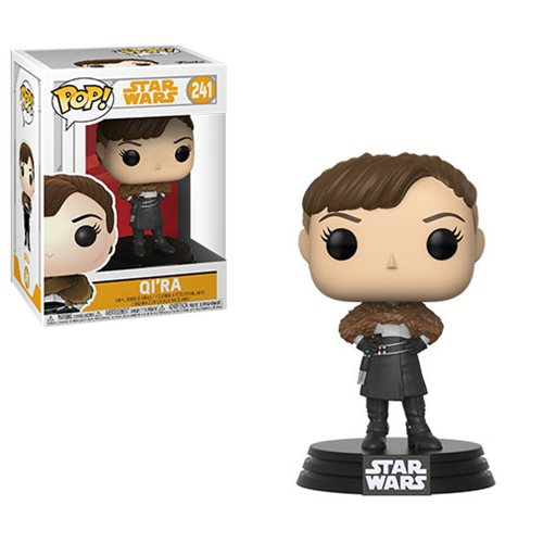 Star Wars Solo Qi'ra Pop! Bobble Head