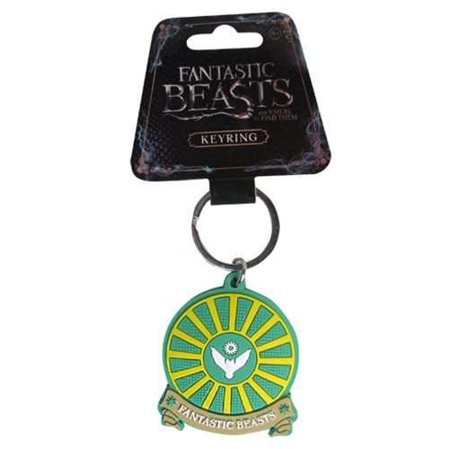 Fantastic Beasts and Where to Find Them Owl Airforce Soft Touch Key Chain