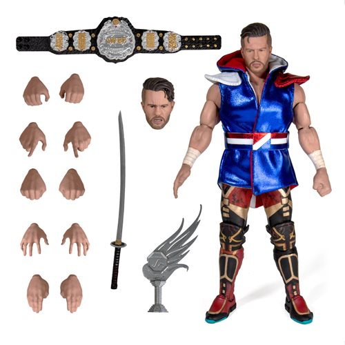 New Japan Pro-Wrestling Ultimates Will Ospreay Action Figure
