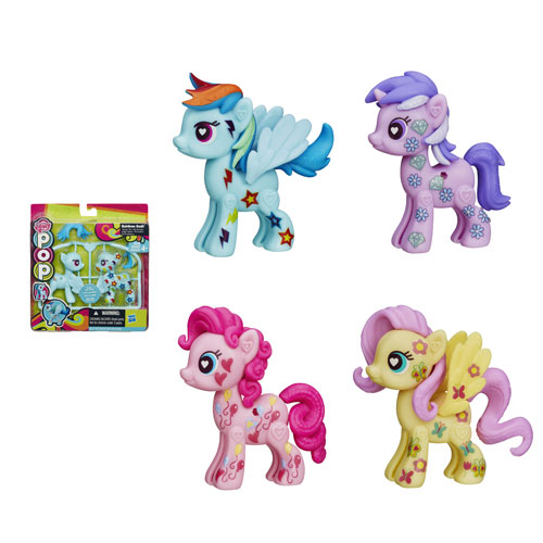 My Little Pony Pop Customizable Basic Ponies Wave 3 Set
