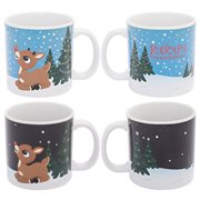 Rudolph 20 oz. Ceramic Heat-Reactive Mug