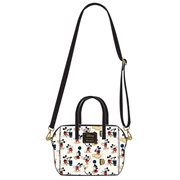 Mickey Mouse Poses Print Purse