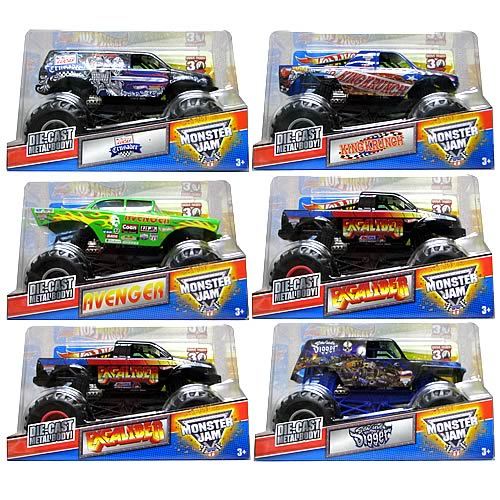 Hot Wheels Monster Jam 1:24 Scale Wave 5 Case