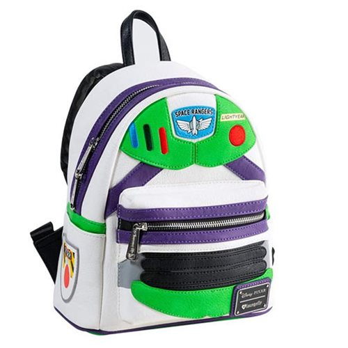 Toy Story Buzz Lightyear Character Mini Backpack