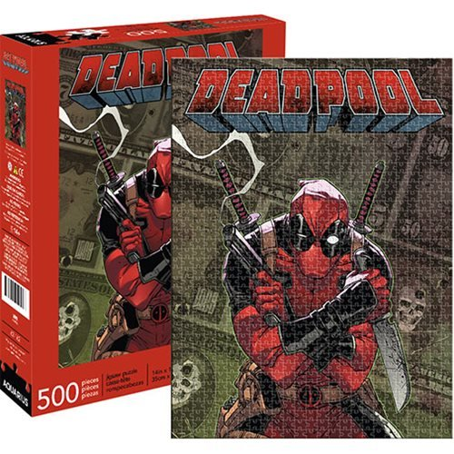 Deadpool Cover 500-Piece Puzzle