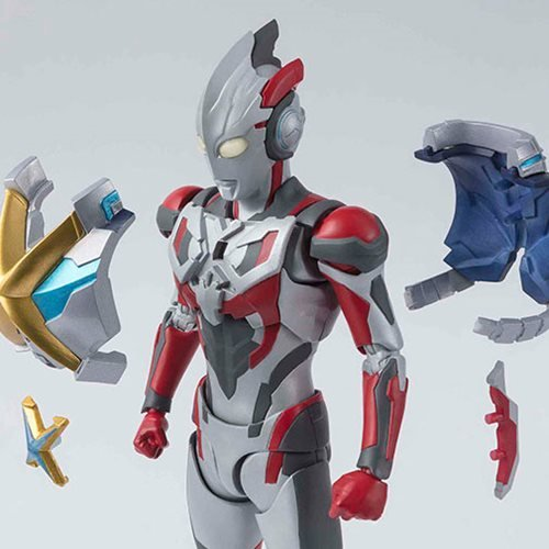 Ultraman X Ultraman X And Gomora Armor Set SH Figuarts Action Figure