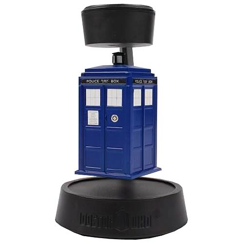 Doctor Who Levitating Time Lords Spinning TARDIS
