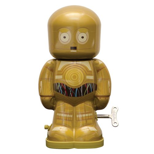 Star Wars C-3PO 7 1/2-Inch Windup Bebot