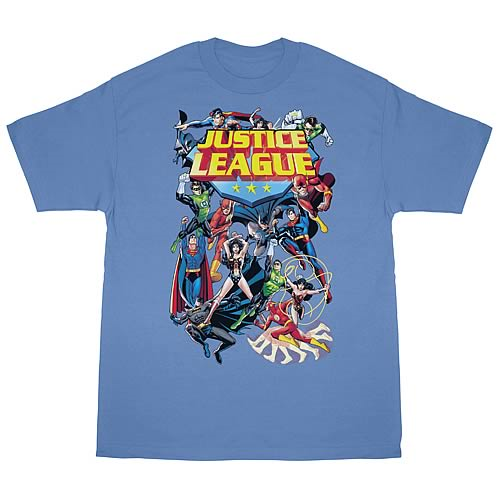 Justice League League a Plenty T-Shirt