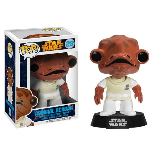 Star Wars Admiral Ackbar Pop! Vinyl Bobble Head