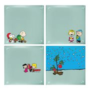 Peanuts Stacking Glass Coaster 4-Pack