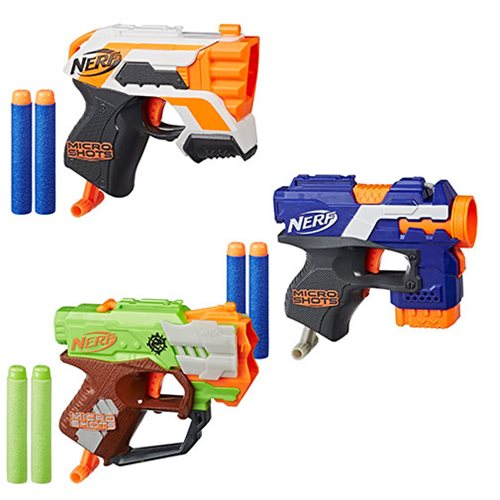 Nerf Micro Shots Blasters Wave 2 Set