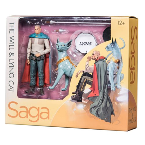Saga The Will and Lying Cat Action Figure 2-Pack