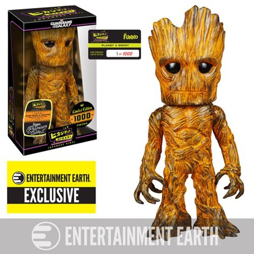 Guardians of the Galaxy Planet X Groot Premium Hikari Sofubi Vinyl Figure - Entertainment Earth Exclusive