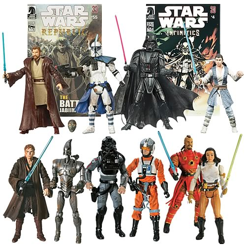 Star Wars Expanded Universe Figure Comic Packs Wave 4