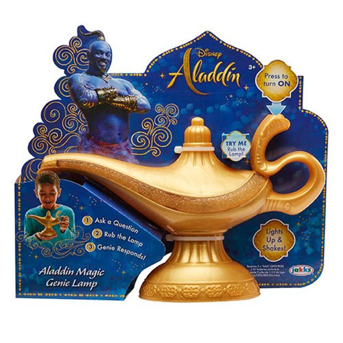 Disney Aladdin Live Action Magic Genie Lamp