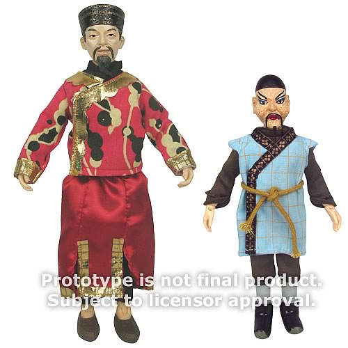 Doctor Who Li H'Sen Chang and Mr. Sin Action Figures