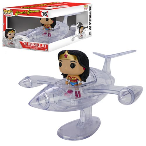 Wonder Woman Invisible Jet Pop! Vinyl Vehicle