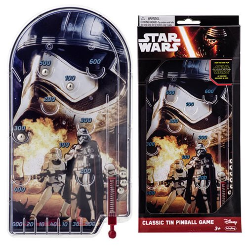 Star Wars: The Force Awakens Captain Phasma Pinball Game