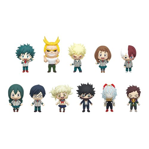My Hero Academia Series 3 Figural Bag Clip Random 6-Pack