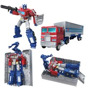 Transformers Generations War for Cybertron Earthrise Leader Optimus Prime Trailer