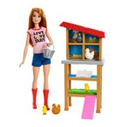 Barbie Careers Chicken Farmer Playset