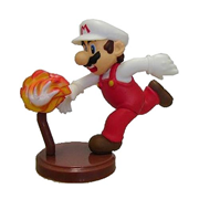 Super Mario Selection Furuta Choco Egg Fire Mario Chase Figure