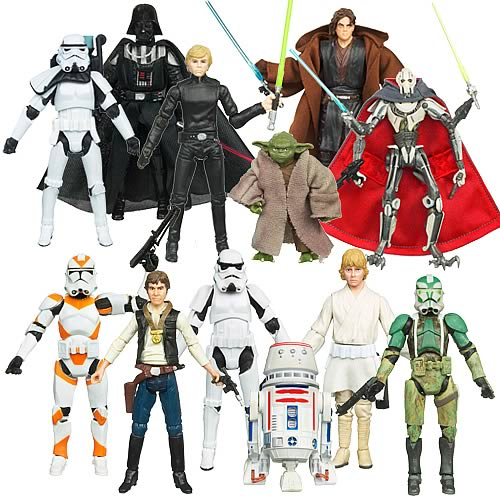 Star Wars Action Figures Vintage Wave 5 Case
