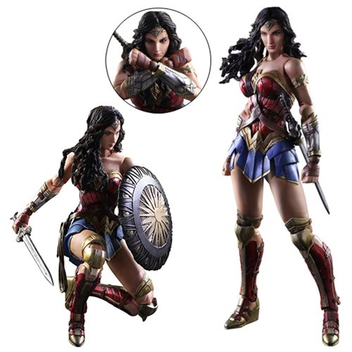 Wonder Woman Movie Play Arts Kai Action Figure