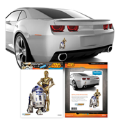 Star Wars C-3PO and R2-D2 Mini Vehicle Graphic