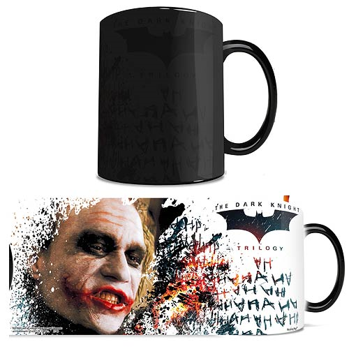 Batman Dark Knight Trilogy The Joker Morphing Mug