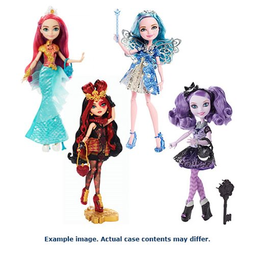 Ever After High Royal and Rebel Doll Case