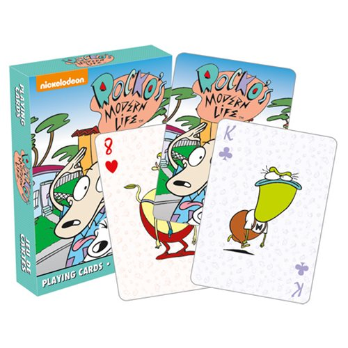 Rocko's Modern Life Playing Cards