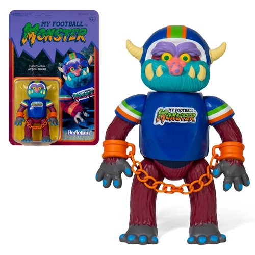My Pet Monster Football 3 3/4-Inch ReAction Figure