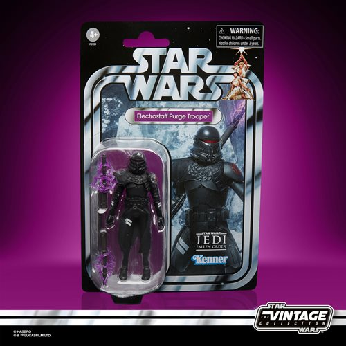 Star Wars The Vintage Collection Gaming Greats Electrostaff Purge Trooper Action Figure - Entertainment Earth Exclusive