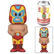Marvel Luchadores Iron Man Vinyl Soda Figure