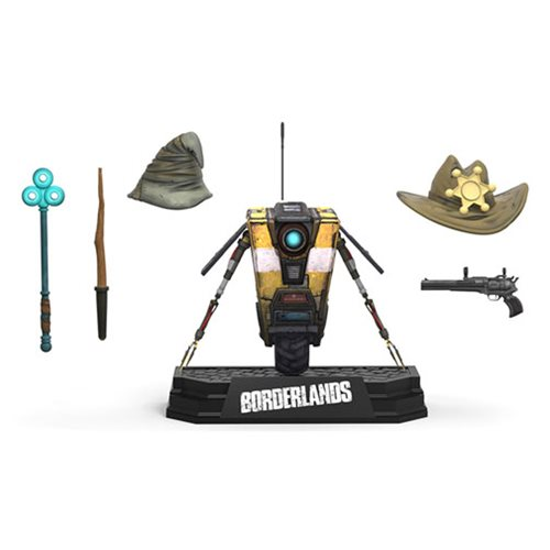 Borderlands Claptrap Deluxe Action Figure Box Set