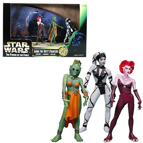 Star Wars Jabba the Hutt's Dancers Action Figure 3-Pack