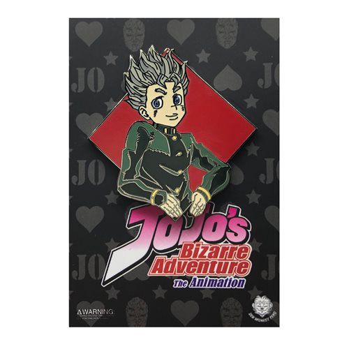 Jojo's Bizarre Adventure Diamond Koichi Enamel Pin