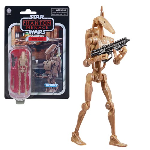 Star Wars The Vintage Collection Battle Droid 3 3/4-Inch Action Figure