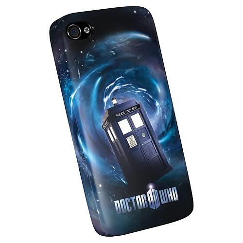 Doctor Who TARDIS iPhone 4 Plastic Cover