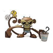 Monkey Good Morning Sunshine by Joe Ledbetter Vinyl Figure