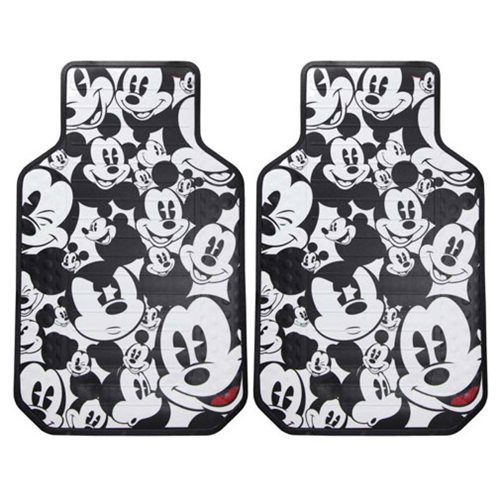 Mickey Mouse Expressions Plasticlear Floor Mat 2-Pack
