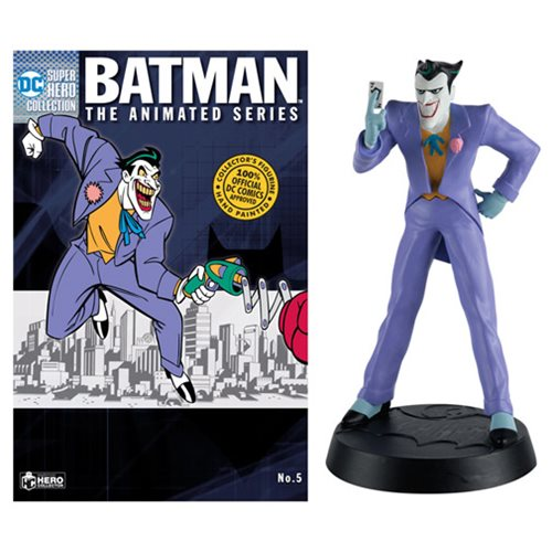 Batman: The Animated Series Joker Figure with Collector Magazine #5