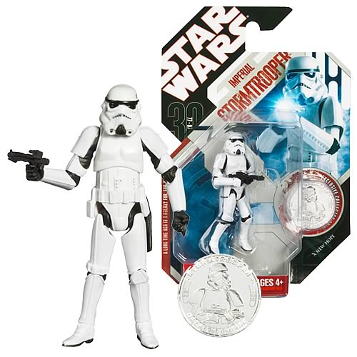 Star Wars 30th Anniversary Stormtrooper Action Figure