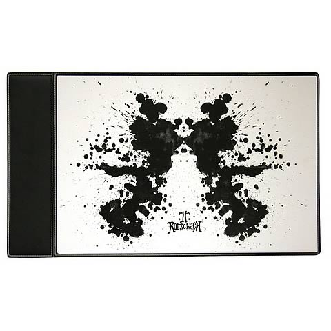 Watchmen Movie Rorschach Desk Blotter