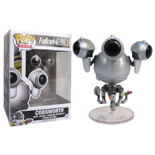 Fallout Codsworth Pop Vinyl Figure Entertainment Earth