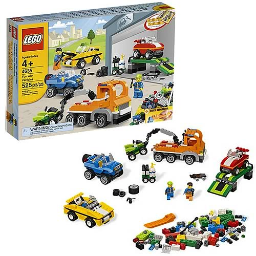 LEGO 4635 Fun With Vehicles
