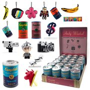 Andy Warhol Soup Can Mini-Figures 4-Pack