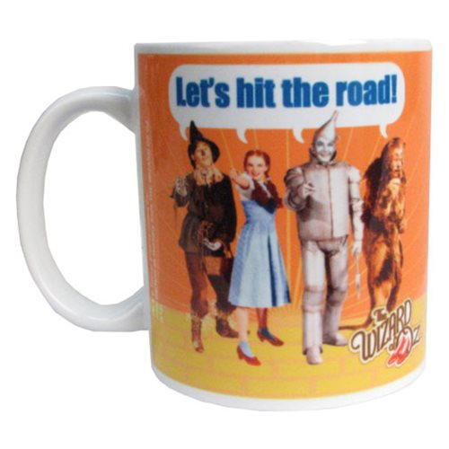 Wizard of Oz Let's Hit the Road 11 oz. Mug